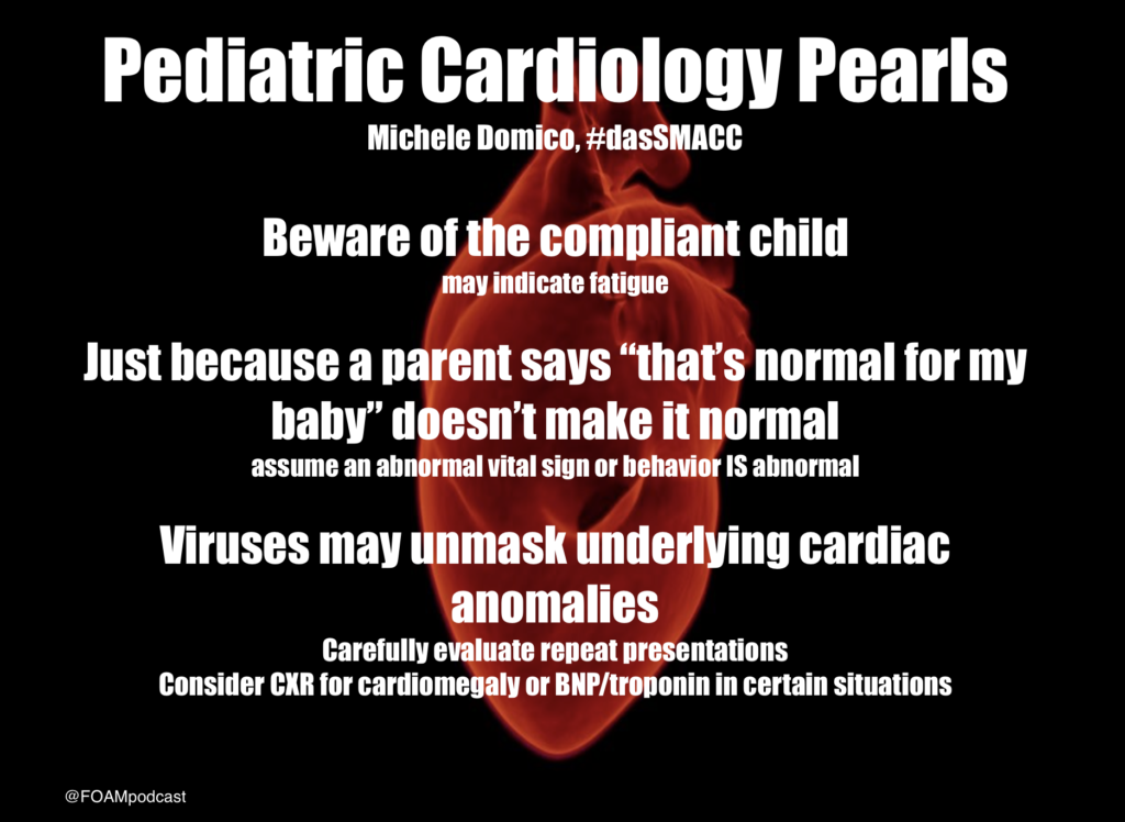 Pediatric Cardiology dasSMACC